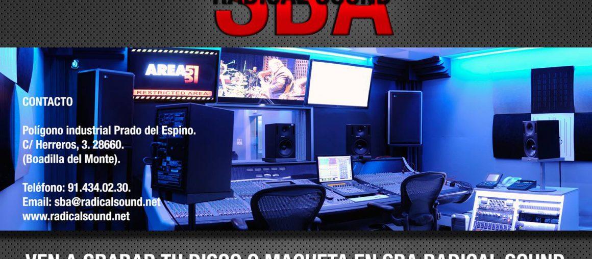 Promoción para grabar en los estudios de SBA Radical Sound 2014
