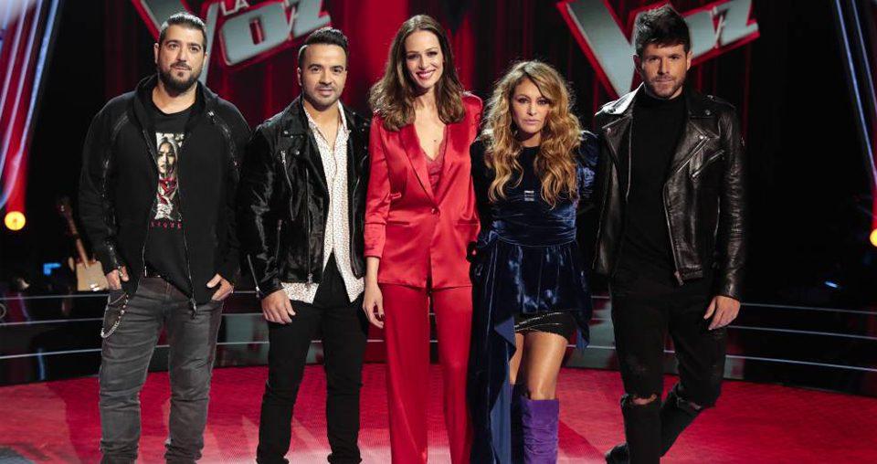 El equipo de SBA vuelve a las grabaciones de 'La Voz' en Antena 3