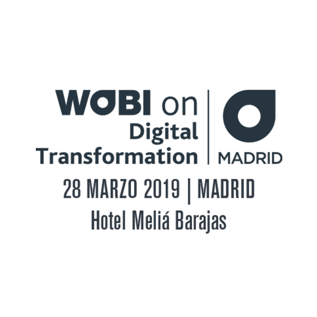 Sonido en directo, grabación, y traducción simultánea deWOBI ON DIGITAL TRANSFORMATION